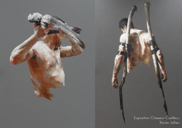 UNIVERS CREATIFS Exposition Chasseur-Cueilleur, Xavier Jallais.