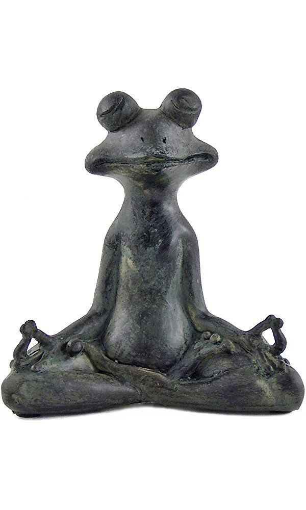 Brand: BellaaColor: GreenFeatures: A Great Gift For A Yoga Enthusiast. Feel  Just Relax With Your Beautiful Statues. Green Yoga Frog Ardha Padmasana ...