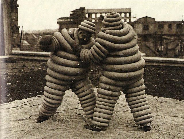 The Michelin Man 100 Years of Bibendum by Olivier Darmon