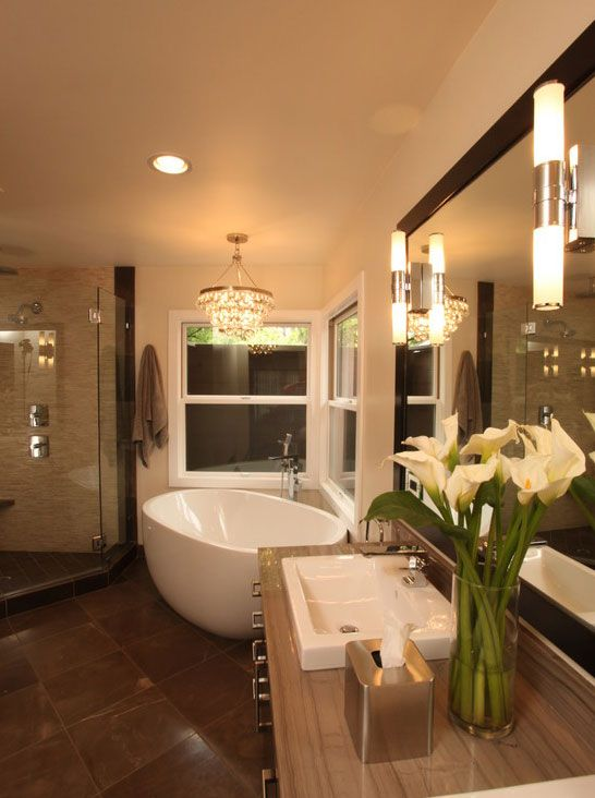 Arch Interiors Design Group Of Beverly Hills Completed This Incredible Transitional Bathroom Using The Contura