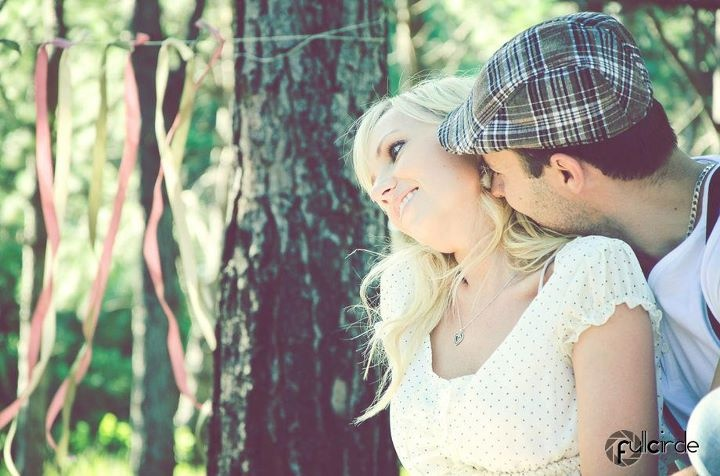Vintage styled couple shoot