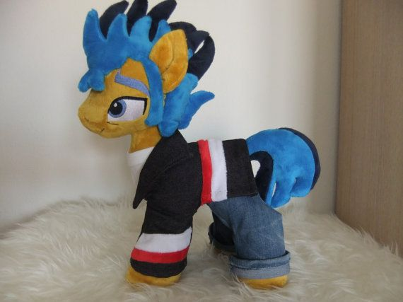 MLP Flash Sentry Equesrtia girls 3 by MLPplushartwork on Etsy