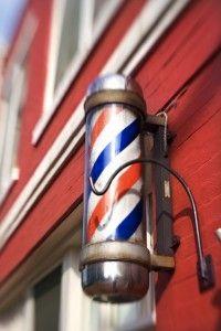 Old fashioned barber shops