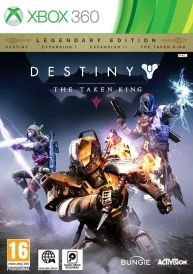 Destiny The Taken King Legendary Edition Xbox Online Only - A Xbox Live subscription and Hard Drive is required to play and 30Gb of Hard Drive Space Destiny The Taken King delivers the next great adventure in the Destiny universe Destiny The Take http://www.comparestoreprices.co.uk/january-2017-6/destiny-the-taken-king-legendary-edition-xbox.asp