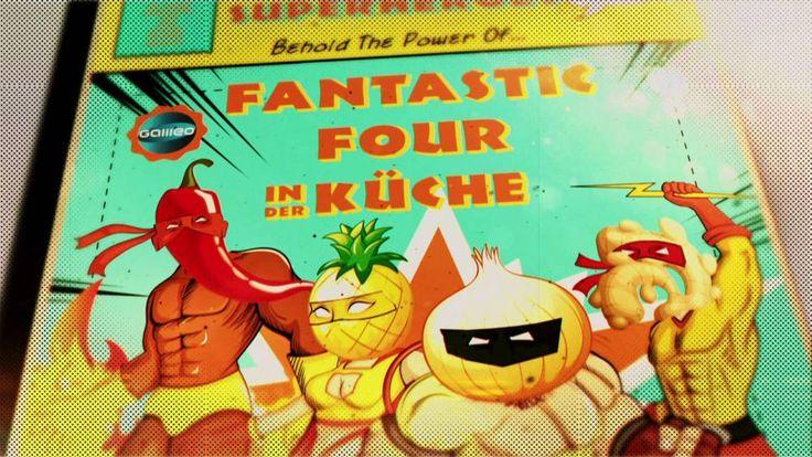 """Chili, Ananas, Ingwer und Zwiebel sind für uns die """"Fantastic Four"""", die Heilsbringer mit Superkräften. Hier sind 3 Rezepte für die Jahreszeit."""