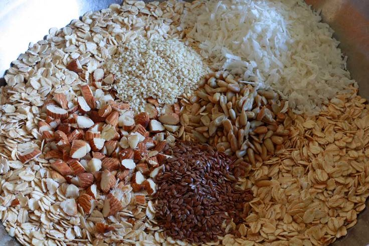 Homemade healthy granolaGranola Recipe