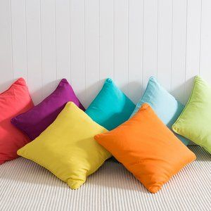 Multicoloured Couch Cushions