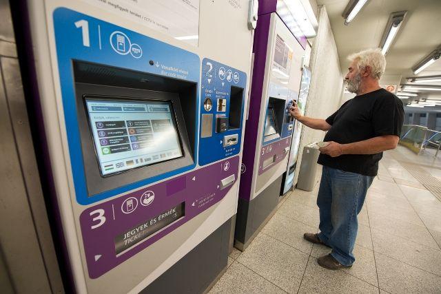 Nové automaty na jízdenky v Budapešti :: Budapešť Ubytování a turistické informace