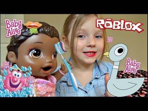 5116f6edfab7 BABY ALIVE does her BEDTIME ROUTINE! The Lilly and Mommy Show. The  TOYTASTIC Sisters. - YouTube