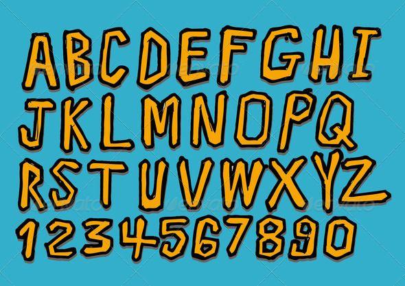Download Font Graffiti 3d Keren Ann