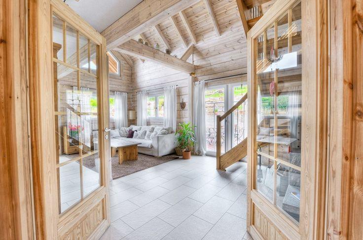 Honka Einfamilienhaus Modell Peak Eingang