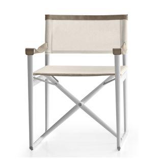 bu0026b italia outdoor mirto directors chair - Outdoor Folding Chairs
