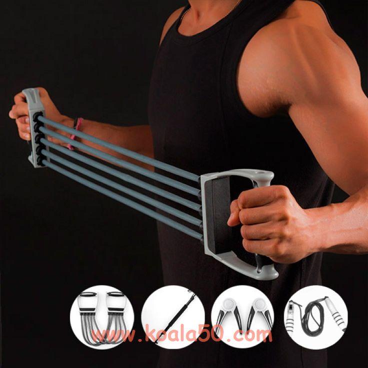 Set de Accesorios de #Fitness (5 piezas) - 33,33 €   ¡Ejercita tus músculos y ponte en forma conel set de accesorios de #fitness(5 piezas)! Idealpara practicar ejercicio y mejorar la forma física.Incluye:Barra de torsión (aprox. 65 cm)Tensor...  http://www.koala50.com/equipamiento-deportivo/set-de-accesorios-de-fitness-5-piezas