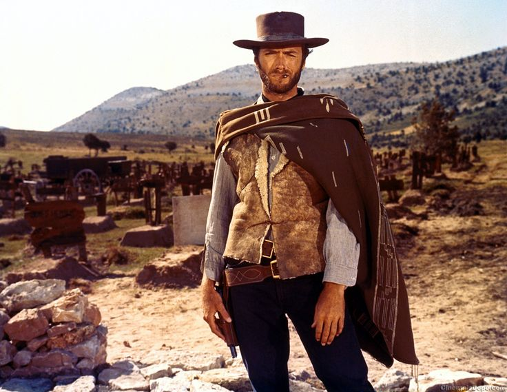 Clint Eastwood in The Good, the Bad & the Ugly: Film, Ugly, Cowboy, Movies, Western, Bad, Clinteastwood, People, Clint Eastwood
