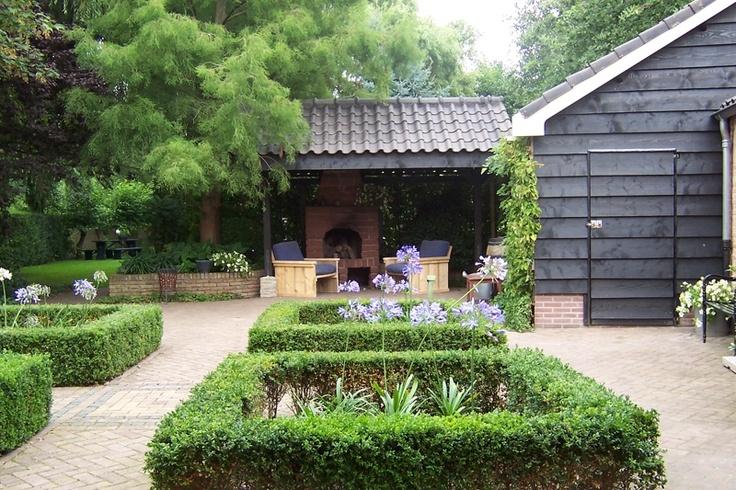 ... , Patio, Landelijk En, En Buxus, Garden Tuin, Tuinideeen, Tuin Ideeen