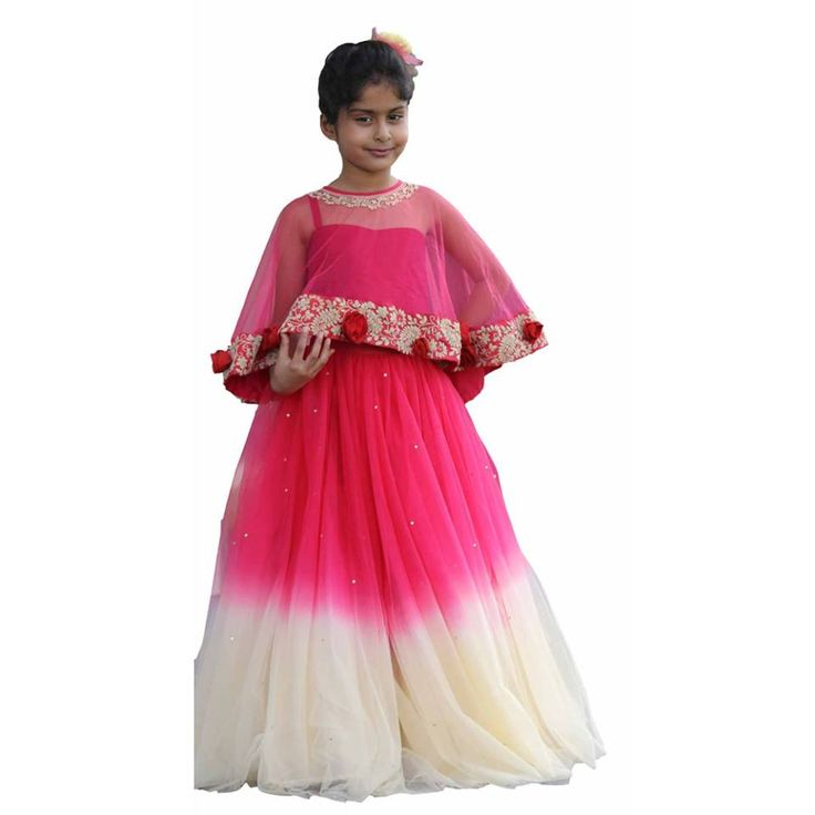 A Beautiful Lehenga With Red And Cream Net Lehenga With Silk Blouse And Emroidered Cape. Perfect For All Your Traditional Occassions. Get 20% off on your first order. #information #buy #free #online #shopping #shipping #discount