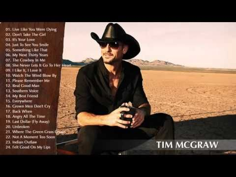 Best Songs Tim McGraw - Tim McGraw's Greatest Hits 2015
