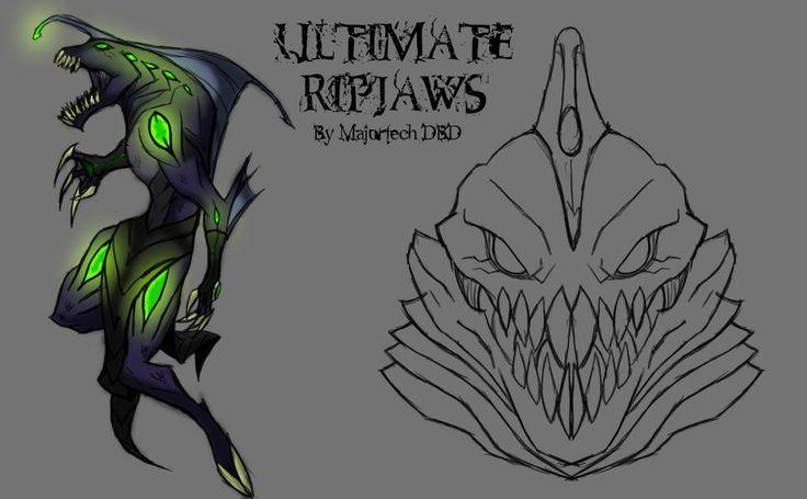 Ben 10 Ultimate Alien Ultimate Ripjaws HD Wallpaper