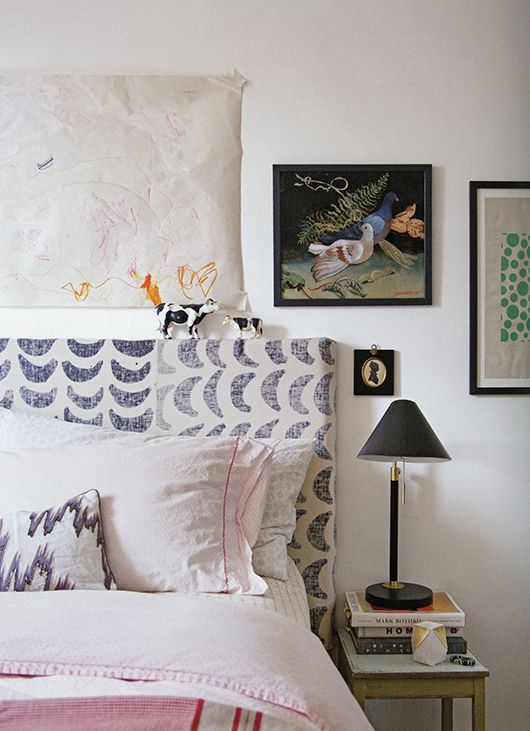 textile designer Rebecca Atwood is debuting her first book today, Living with Pattern: Color, Texture and Print at Home and is it ever a beautiful book she should be truly very proud of. Pattern is a