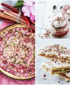 Rabarbertærte med vaniljecreme