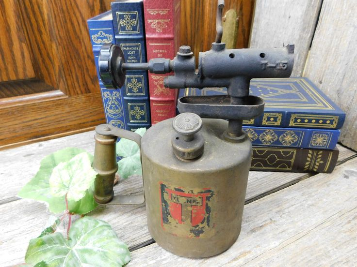 Antique Metal Turner Blow Torch Welding Tool by allthatsvintage56 on Etsy