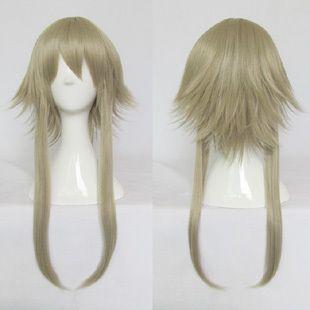 Срок Цирк ГУМИ Блондинка лохматый слоистых аниме косплей костюм парик, синтетические hair. Free доставка