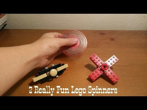 LEGO Spinner Fidget Toy Tutorial! How to Make 5 Different Hand Spinners! - YouTube