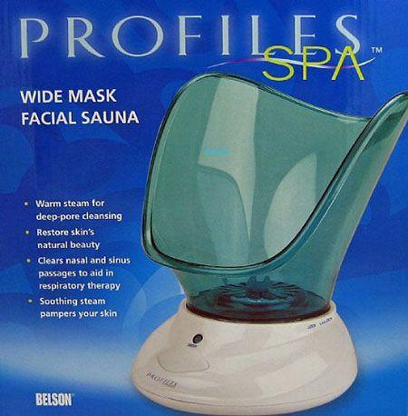 5. Profiles Wide Mask Facial Sauna