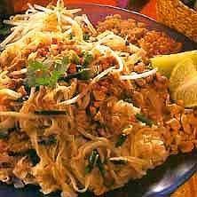 Pad Thai - thailändska stekta nudlar