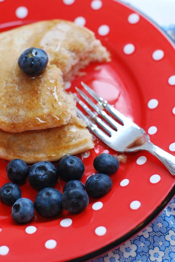 Spelt and Vanilla Vegan Pancakes