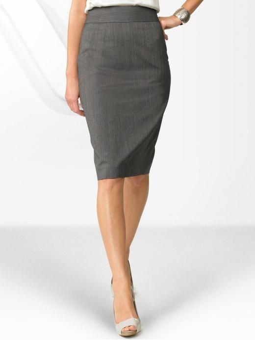 Pencil Skirt Grey 104