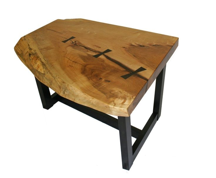 Beautiful Black River Coffee Table From Vitae Series.   Martin C Vendryes Woodworking