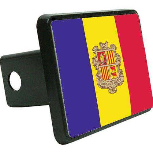 Andorra Flag Trailer Hitch Cover