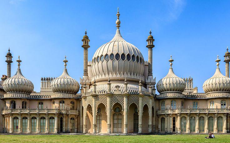 Hanoverian palace of the Regency era, Brighton, United Kingdom