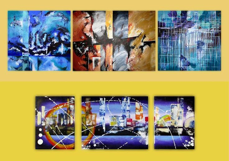 Abstract Paintings - INSPIRATIONS Wall Decor acrylic on canvas