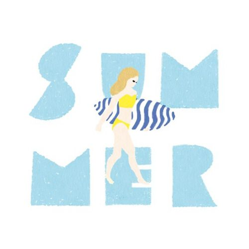 ritto-design: SUMMER #illustration #instagood #drawing #summer