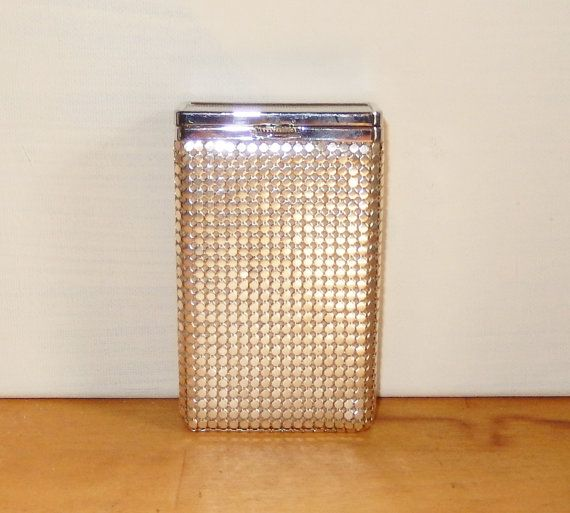 Vintage Glomesh cigarette case Silver by MYHIGHSTREETBOUTIQUE, $50.00