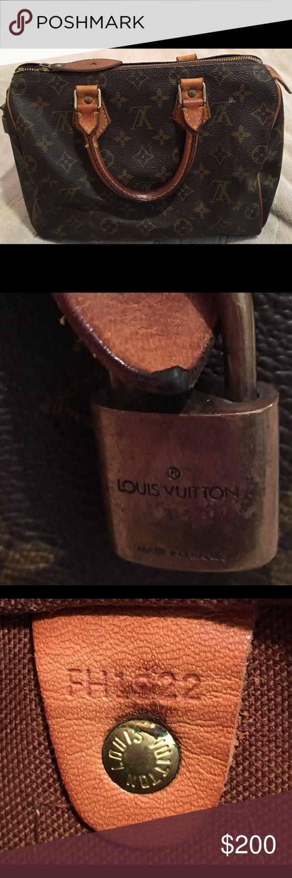 Louis Vouitton Speddy Louis Vouitton Speddy used Louis Vuitton Bags
