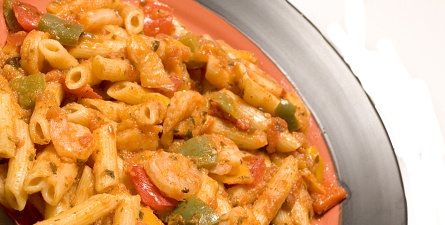 Spicy Penne Pasta with Shrimp | Recipes That Look Awesome! | Pinterest