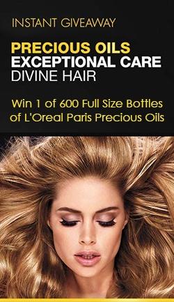 Win 1 of 600 Full Size Bottles of L'Oreal Paris Precious Oils