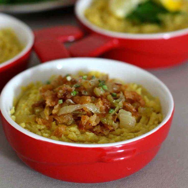 La fáva de Santorin est un plat traditionnel grec à base de la légumineuse du même nom, subtilement relevée d'huile d'olive.