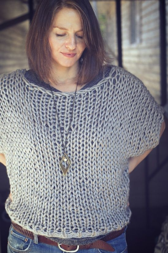 Welland Sweater from Good Night Day, by Michelle Carter.