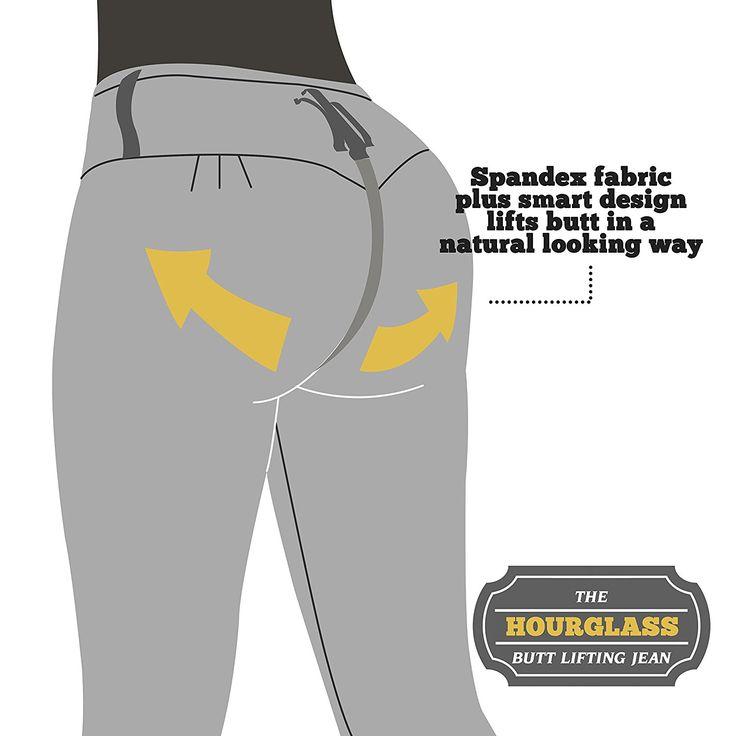 Curvify 765 Premium Women's Enhanced Butt Liftting Skinny Jeans Light Blue 9