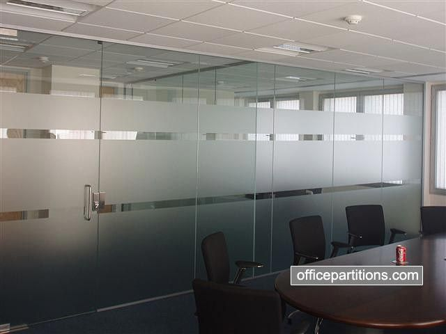 Color frosted glass for wall google search conference for Office design glass
