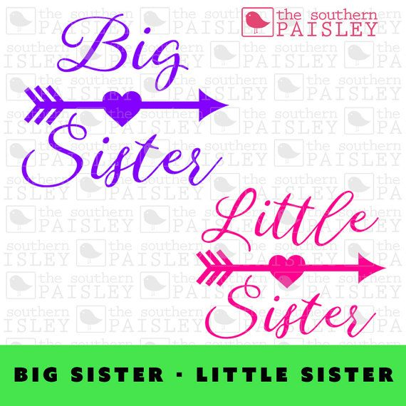 This Big Sister - Little Sister Arrow file is for use in your Silhouette Studio, Cricut, or other programs that can read .ai, .dxf, .eps or .svg files. It can be used in scrapbooking, card making, and vinyl cutting - both regular and heat transfer vinyl.\  Monogram Font is NOT INCLUDED  A physical product will not be mailed to you.  This digital file is available for instant download after checkout. Due to the electronic nature of this item, refunds arent offered. Please message me if you…