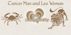 Cancer Man and Leo Woman Love Compatibility