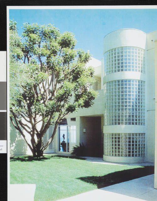 fickett-mack-002~1 :: Photograph, Marilynn Mack Residence, 1956 :: Edward H. Fickett, FAIA, Collection. http://digitallibrary.usc.edu/cdm/ref/collection/p15799coll25/id/86