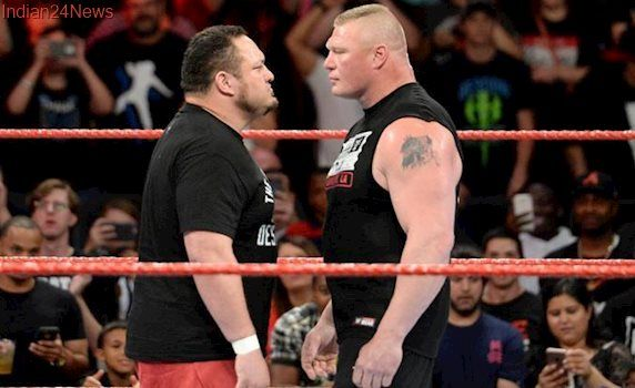 WWE Raw Results: Brock Lesnar, Samoa Joe come to blows; The Hardy Boyz fail to regain Tag Team title