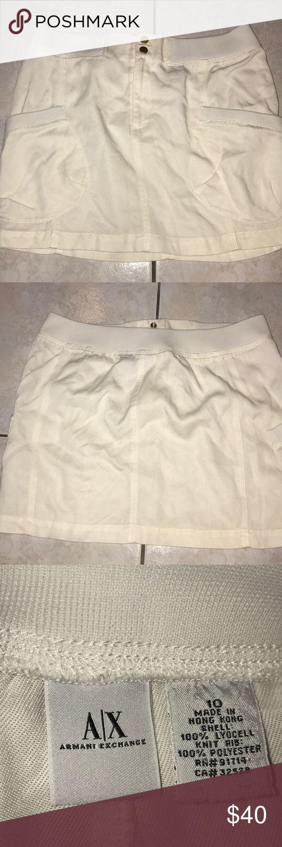 Armani Exchange Skirt Armani Exchange Mini Skirt Also Selling The Jacket Separately A/X Armani Exchange Skirts Mini