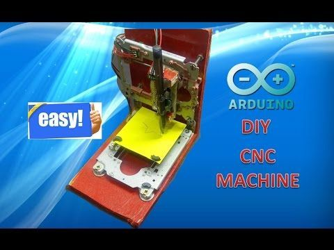 How to Make a CNC machine at home using Arduino - YouTube